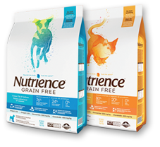 Discover the Nutrience Grain Free line of pet foods.