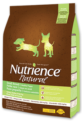 Nutrience Natural Healthy Puppy Small Breed Dog Food