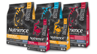 Nutrience Subzero pet food
