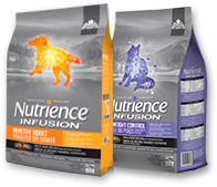 Discover the Nutrience Infusion line of pet foods.